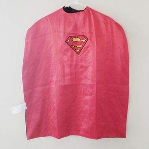DC comics reversible superman/batman cape